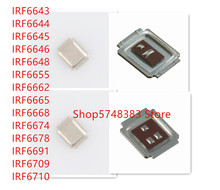 10PCS/LOT IRF6643 IRF6644 IRF6645 IRF6646 IRF6648 IRF6655 IRF6662 IRF6665 IRF6668 IRF6674 IRF6678 IRF6691 IRF6709 IRF6710 MOSFET