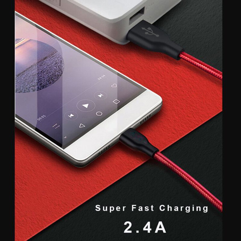 PUJIMAX Micro USB Cable with Adapter Fast Charging Data Sync For Samsung Huawei Xiaomi iphone X Sync Charger cable and Converter in Mobile Phone Cables from Cellphones Telecommunications