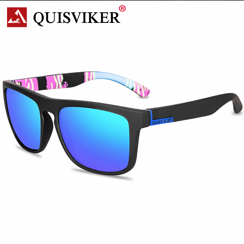 QUISVIKER Brand New occhiali polarizzati uomo donna occhiali da pesca occhiali da sole campeggio escursionismo guida occhiali occhiali da sole sportivi 2