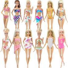 Lot Doll Accessories Chair / Lifebuoy /Swimsuits Swimwear Bikini Swimming Outfit Beach Bathing Clothes for Barbie Doll Dollhouse(China)