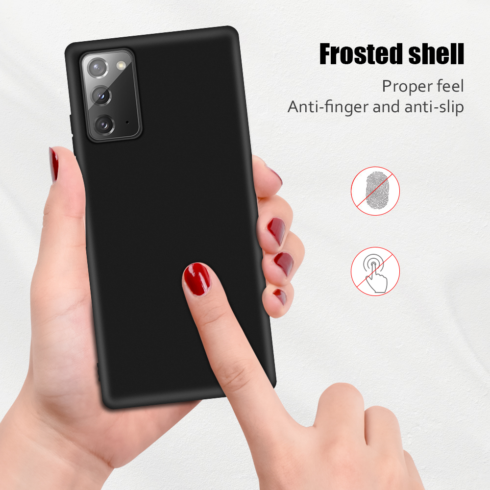Luxury Soft Silicon Cover Case for Samsung Note 20 Ultra