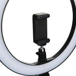 Image 4 - 6/8/10 אינץ LED Selfie טבעת אור צילום Selfie טבעת תאורה איפור וידאו חי עם חצובה Stand סטודיו טבעת מנורה