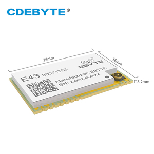 Image 2 - E43 900T13S3 UART 868mhz 915 MHz 20mW IPX Stempel Loch Antenne IoT uhf SMD Wireless Transceiver Sender und Empfänger RF Modul