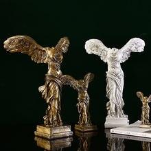 Статуя богини победы в европейском стиле скульптура из смолы