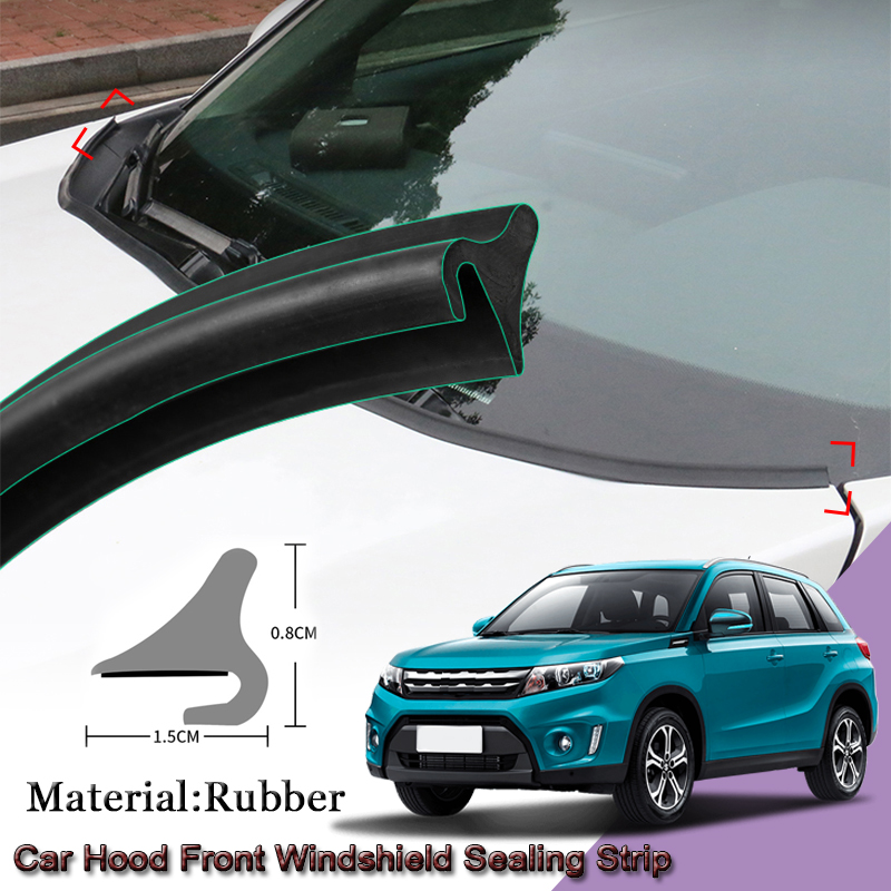 DIY Car Seal Strip Windshied Spoiler Filler Protect Edge Weatherstrip Strips Sticker Car Accessories For Suzuki VITARA 2015-2020