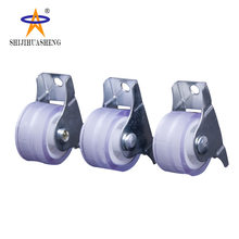 Manufacturers Direct Selling Mute Muffler round Heavy Duty Industrial Caster Double Bearing Wear-Resistant Flatbed Trolley Rolle(China)