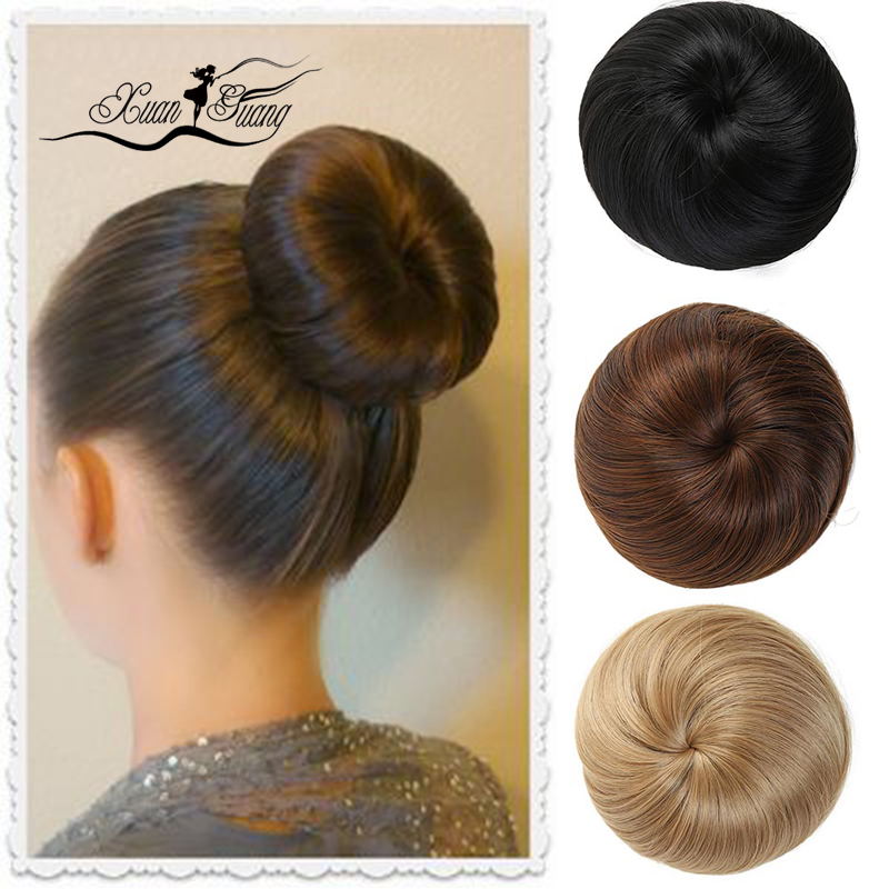 DIANQI Women's Extensions Are Clipped To Artificial Hair Tails, Donuts, Straight Buns, Straight Wigs, And Ponytails