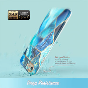 Image 2 - Женский чехол для iphone 7 8, чехол для iPhone SE 2020, стильный Гибридный Премиум Защитный Тонкий бампер Cosmo Lite, Мраморная задняя крышка