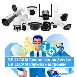 Brillcam serviço de personalização para 2mp 4mp 5mp 6mp 8mp 4k nvr poe câmera ip vigilância de segurança em casa
