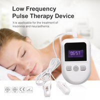 CES Device Brain Electronic Therapy Stimulation Device Tens Ems Massage Ear Clip Electrode Sleep Insomnia Cure