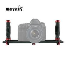 Brushless Gimbal Metal Holder Bracket For DSLR Camera Beholder Feiyu Zhiyun Handheld Gimba with 1/4 3/8 Screw Hole