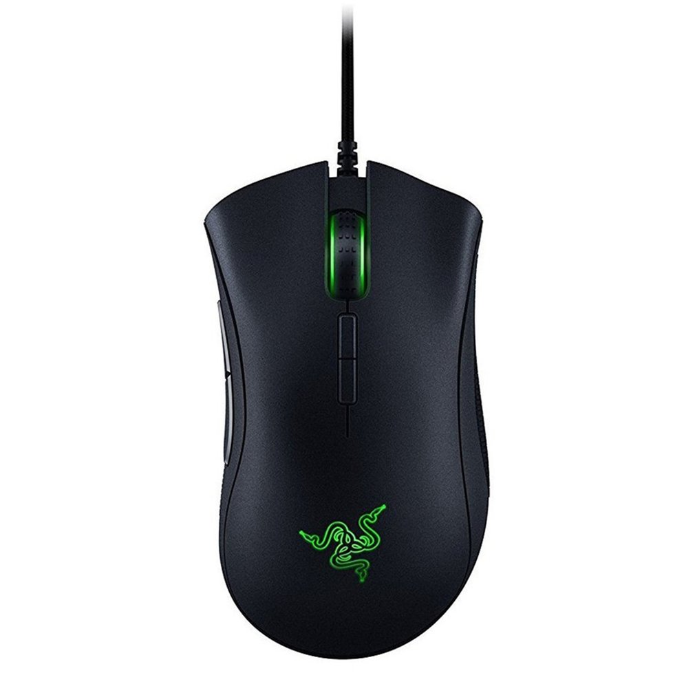 DeathAdder Essential Wired Mouse Professional-Grade Gaming Mouse 3500DPI OpticalSensor
