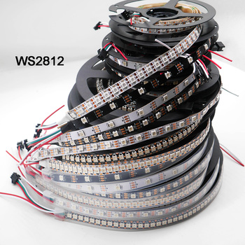 25m 20m 15m 10m 5m ws2812b led strip ws2812b ic 30 leds m rgb smart pixel strip colorful x2 led controller led power supply WS2812B 5m 30/60/144 pixels/leds/m Smart led pixel strip,WS2812 IC;WS2812B/M,IP30/IP65/IP67,Black/White PCB,DC5V