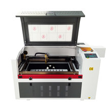 Gravador a laser cnc 6040 co2, cortador a laser 60w 80w 100w ponto vermelho, posição elétrica para cima e para baixo máquina de esculpir a laser