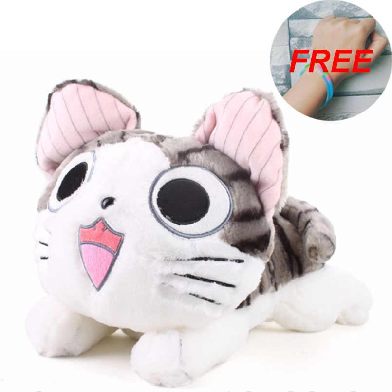 Brinquedos de pelúcia chi gato recheado e macio animal bonecas presente para crianças kawaii 20cm chi cat s gato brinquedos chi doce casa anime amante brinquedo