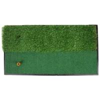 Durable Golf Hitting Grass Mat Semi Fairway Rough Surfaces Putting Grass Pad On the Go Training Mats