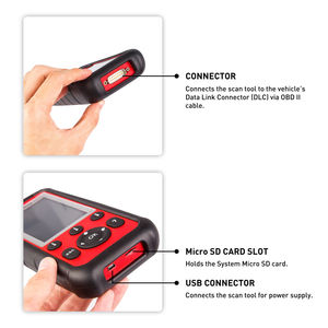 Image 4 - Autel MaxiDiag MD808 Pro All System SRS/ABS/Oil Reset OBD2 Diagnostic Tool Car Code Reader Scanner vs MaxiCheck Pro MD805 MD802