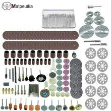 Dremel mini perceuse électrique gravure machine accessoires outil électrique accessoires bois polissage accessoires 148 pièces