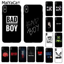 MaiYaCa BAD BOY Coque etui na telefon do Apple iphone 11 pro 8 7 66S Plus X XS MAX 5S SE XR etui na telefony komórkowe(China)