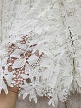 wholesale retail hot sales African Cord Lace Fabric good Quality guipure lace fabric For party Dresses  5yds/pcs