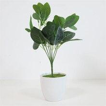 New Bouquet Artificial Tropical Palm Leaves Simulation Plants Home Balcony Garden Landscape Decoration Accessories