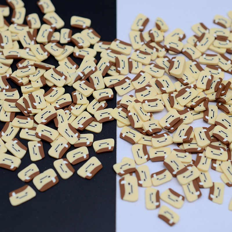 100G/Banyak Polimer Makanan Panas Tanah Liat Taburan untuk Kerajinan Membuat Diy
