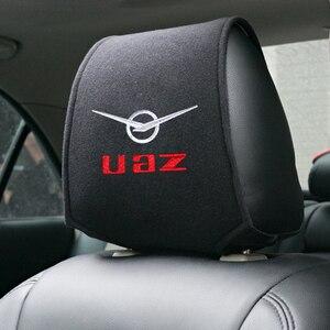 Популярный чехол на подголовник автомобиля, подходит для автомобильного сиденья UAZ