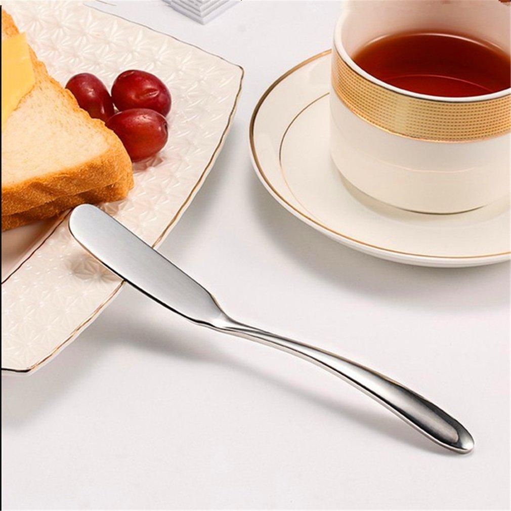 Stainless Utensil Butter Knife Cheese Dessert Jam Cream Spreader Cutlery Toast Breakfast Tool Freeshipping