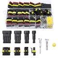 26 шт./кор. Электрический проводной соединитель, 1/2/3/4 контактный IP68 Водонепроницаемый Автомобильный провод, кабель, соединители, 12A обжимной ...