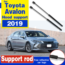 2Pcs Auto Car Front Engine Bonnet Gas Struts Bars Damper Hood Lift Support Shock For Toyota Avalon 2019 Support rod Hood Struts front hood bonnet gas struts lift support shock damper for mitsubishi lancer ex io type fortis for proton inspira 10 14 absorber