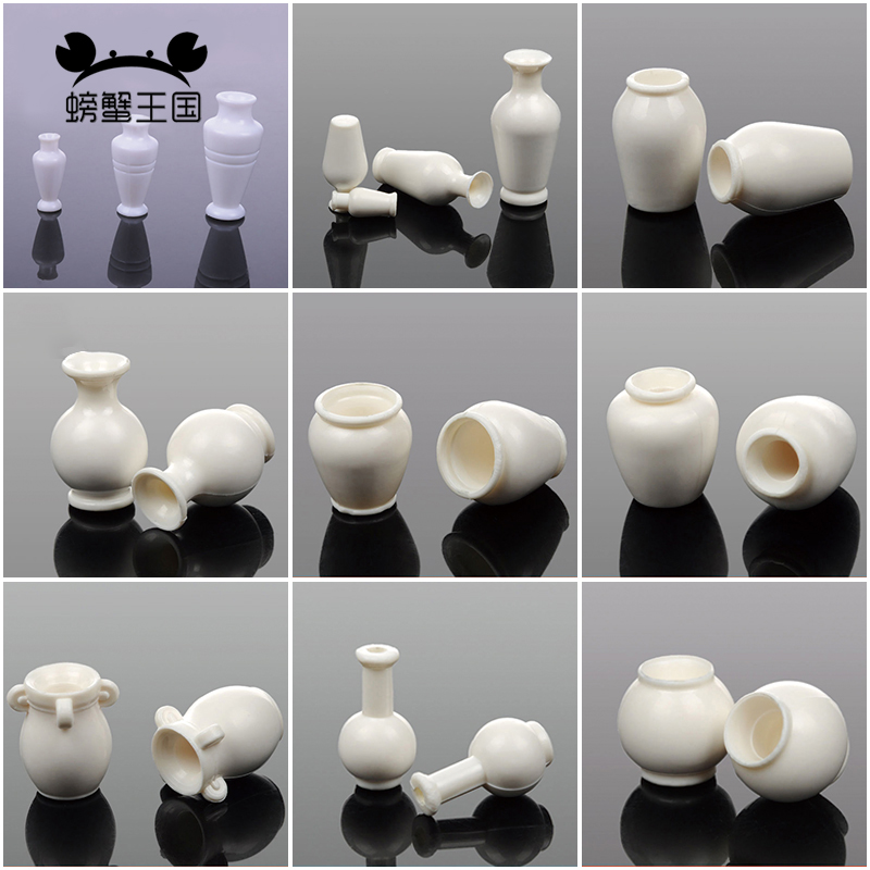 10pcs Model Vase Model Building Material DIY Sand Table Making Micro Landscape Matching Material