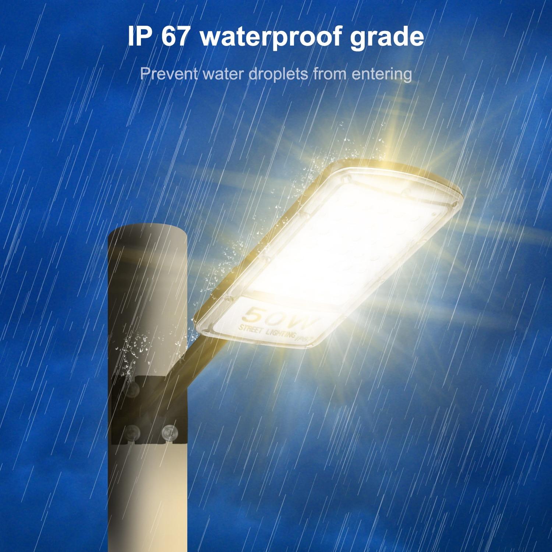 1pc/2pcs LED Street Road Light 80W Floodlight Wall Light Outdoor Garden Road Street Pathway Lamp Flood Light IP67 Waterproof