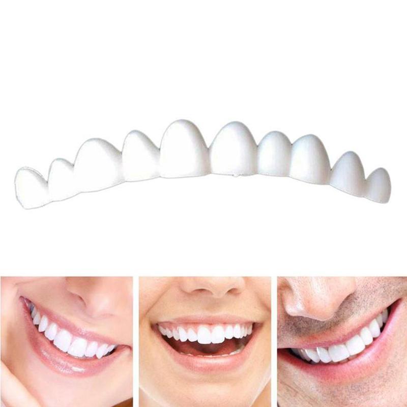 1pcs Natural Color Dental Veneers For Teeth False Smile Veneers Removable Smile Veneers On Teeth Tooth