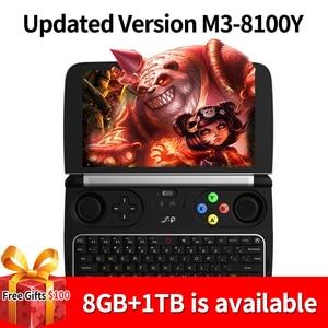 GamePad-планшет GPD Win 2 на Windows 10, новый карманный компьютер с 4-ядерным процессором Intel Core m3-8100Y, экраном диагональю 6 дюймов, ОЗУ 8 ГБ, внутренней пам...