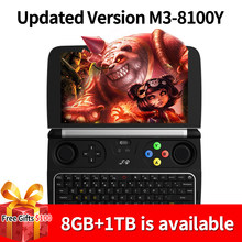 "Neue GPD Win 2 WIN2 Intel Core m3-8100Y Quad core 6 ""GamePad Tablet Windows 10 8GB RAM 256GB ROM Tasche Mini PC Computer Laptop(China)"