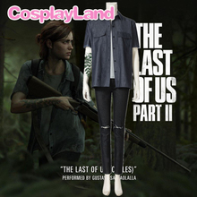 The Last of Us Ellie Cosplay Costume Carnival Halloween Costumes for Women Hot Game Fancy Shirt Tattoo Ellie Outfit ellie goulding ellie goulding halcyon