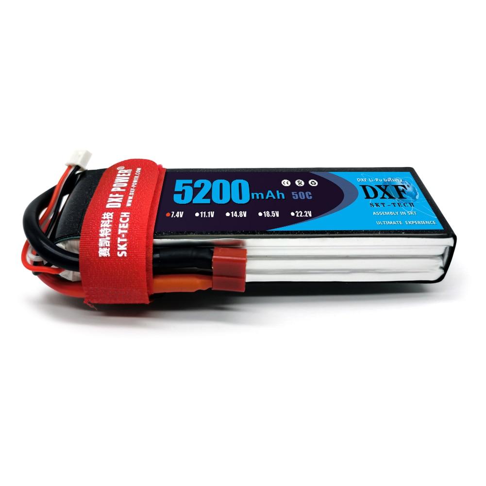 DXF 2S 7.4V 5200mAh 50C LiPo