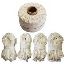 Ficelle en coton 100% naturel, cordon en macramé, étiquette suspendue, accessoire fait à la main, bricolage
