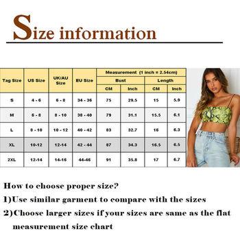 Women Sexy Sleeveless Crop Tops Tee Snake Skin Print Tant tops Bodysuit Shirt 2020 Sexy Fashion Ladies Tanks 2