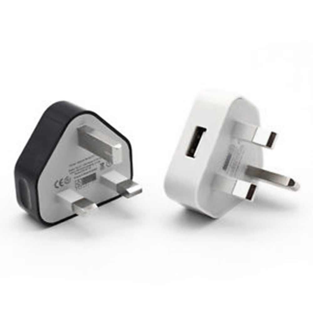 Штепсельная Вилка британского стандарта 3 Pin USB зарядный адаптер для Зарядное устройство Мощность штекер розетка Порты USB для телефонов Планшеты заряжаемого устройства для путешествий и дома