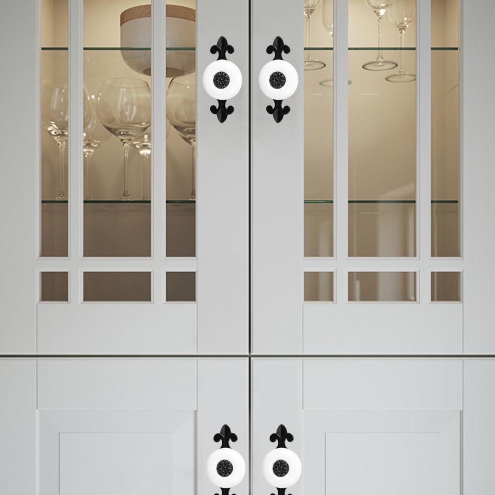 Fashion Zinc Alloy Gate Grip Solid Knob Home High Quality New Drawer Handle 6T