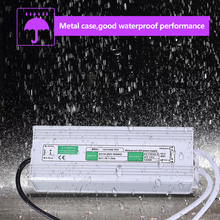 10 18 3w 30w 54w integrated waterproof ip67 led driver dc30 60v 680ma power supply wholesale and retail free shipping 12V 120W LED Switch Power IP67 Waterproof LED Driver Power Supply Electrical Parts