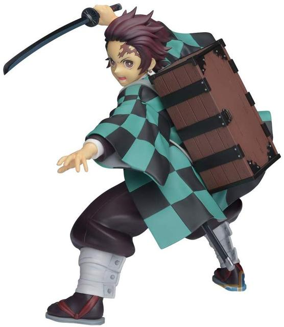 Demon Slayer Tanjirou PVC Action Figures Toys 200mm Kimetsu no Yaiba Anime Tanjirou Fighting Figurine Toy Doll Gift