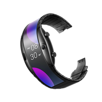ZTE Nubia alpha Chinese Version wristwatch cellphone Snapdragon 8909W Mobile Phone band Curved surface screen 8GB ROM 2