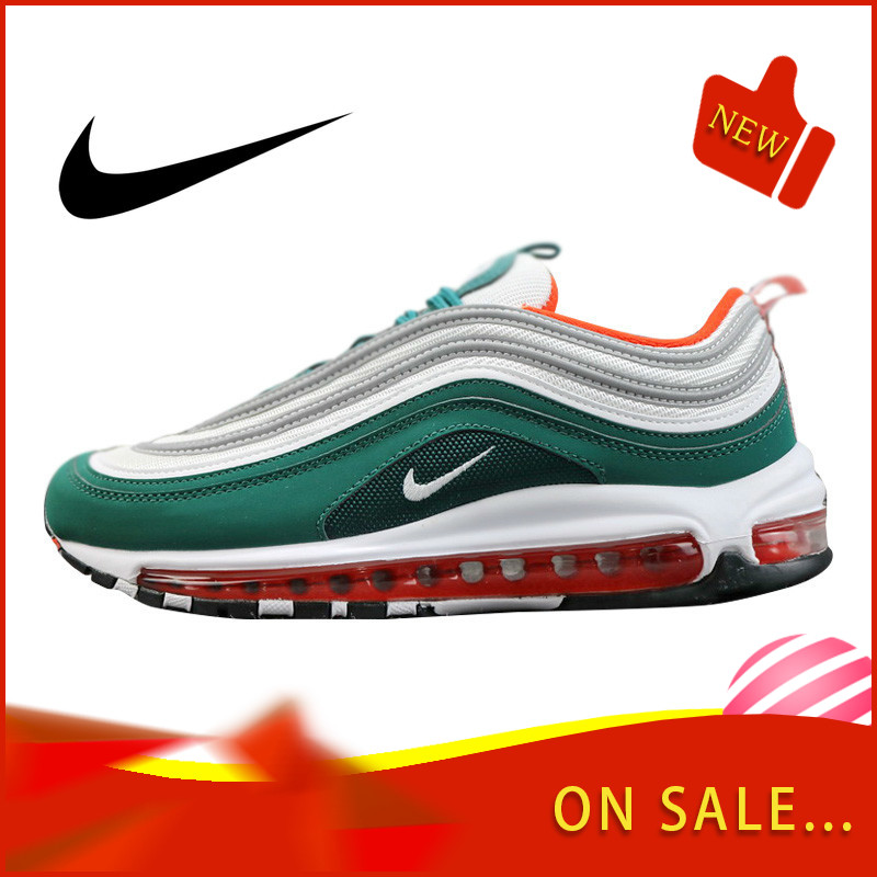 Original Authentic Nike Air Max 97 LX Men's Running Shoes Fashion Outdoor Sports Shoes Breathable Comfort 2019 New 921522-300