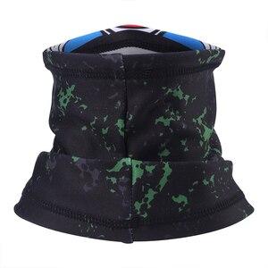 Image 4 - Fleece Neck Gaiter Protection Face Mask Cover Warmer Windproof Motorcycle Tube Scarf  Balaclava Fishing Ski Snowboard Bandana