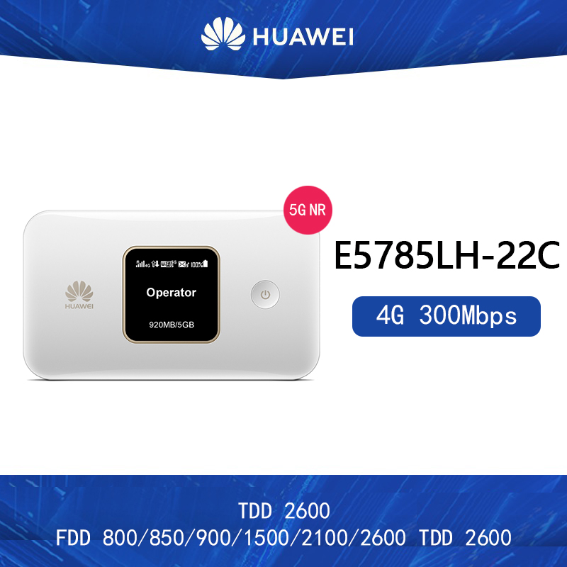 US $98.99 |Unlocked Huawei E5785Lh 22C 300M 4G Hotspot WiFi Router Wireless Sim Card Slot Portable Mobile Wi Fi Add 2 antennas|3G4G Routers|