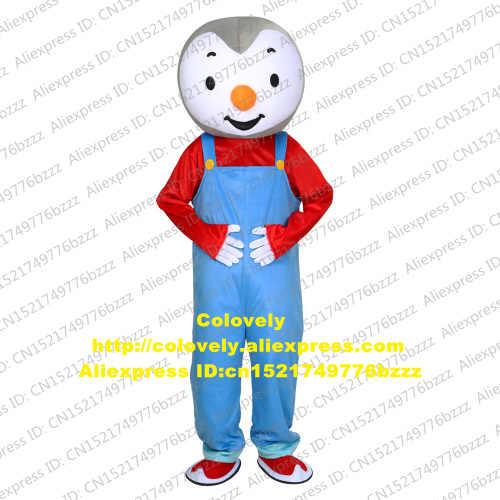 T'choupi Tchoupi Purim Maskot Kostum Dewasa Kartun Karakter Pakaian Drum Bisnis Gambar Iklan CX020 Gratis Shiping