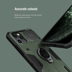 Image 5 - For iPhone 11 Pro Max Case ring phone stand holder NILLKIN Slide Camera Protect Privacy Back Cover for iPhone 11 Pro case