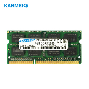 DDR3 DDR4 8GB 4GB 16GB laptop Ram 1333 1600 2133 2400 2666Mhz DDR3L 204pin Sodimm Notebook memory laptop 1.35v 1.2v New KANMEIQi